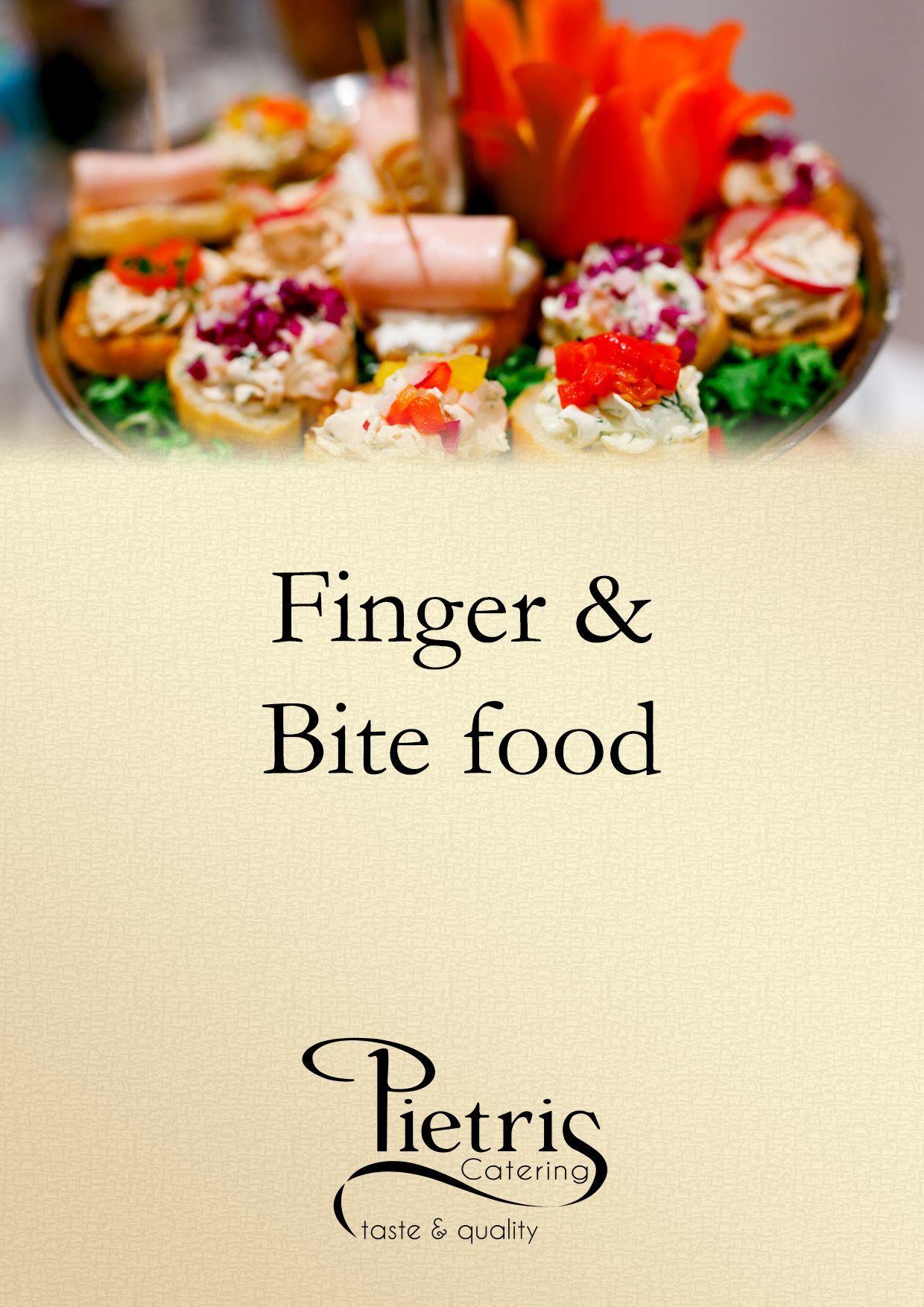 Εικόνα από Finger & Bite Food __________